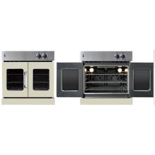 Residential Wall Oven, French Door Wall Oven , Light Gray Color