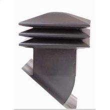 Attic ventilator for sloped roof