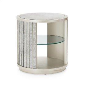 Avondale Mirrored Lamp Table