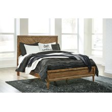Broshtan - Light Brown 3 Piece Bed Set (Queen)