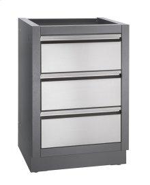 OASIS™ three drawer cabinet
