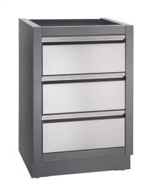 OASIS™ three drawer cabinet