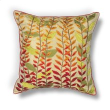 "L172 Autumn Leaves Pillow 18"" X 18"""