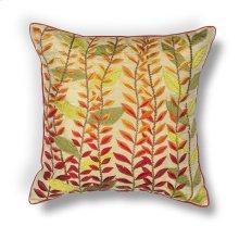 """L172 Autumn Leaves Pillow 18"""" X 18"""""""