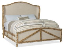 Bedroom Roslyn County King Deconstructed Uph Panel Bed