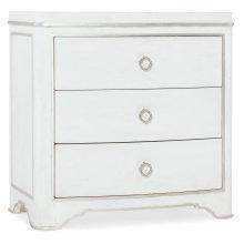 Bedroom Modern Romance Three-Drawer Nightstand