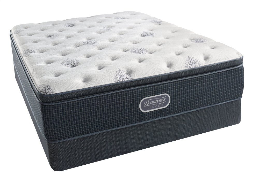 SimmonsBeautyrest - Silver - Open Seas - Pillow Top - Plush - Cal King
