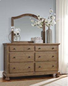 Trishley - Light Brown 2 Piece Bedroom Set