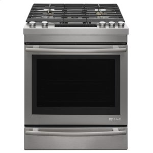 "Jenn-AirEuro-Style 30"" Dual -Fuel Range Stainless Steel"