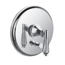Pressure Balanced Control With Diverter in Polished Chrome