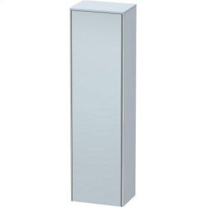 Tall Cabinet, Light Blue Satin Matt Lacquer