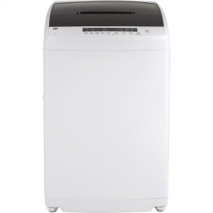 GE®Space-Saving 2.8 cu. ft. Capacity Stationary Washer with Stainless Steel Basket