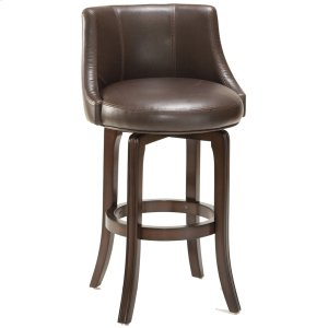 Hillsdale FurnitureNapa Valley Bar Stool - Dark Brown Bonded Leather