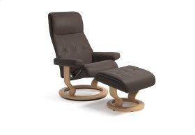 Stressless Sky Medium Classic Base Chair and Ottoman