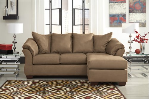 75002 Darcy Mocha Sofa Chaise Only