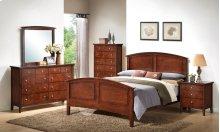 3136 Carter Queen BED COMPLETE; Queen HB, FB, Rails & Slats