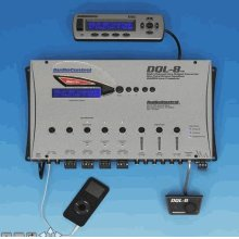 Eight Channel Line Output Converter with Auxiliary Input and Digital Signal Processing