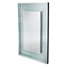 Rect Wall Crystal Mirror W/o LED Lights