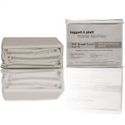 SleepSense 3-Piece Sand Duvet Cover with Shams, King Product Image