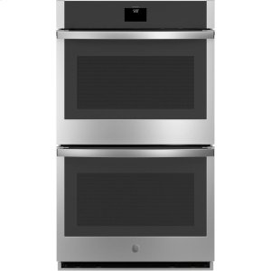 "GE®30"" Smart Built-In Self-Clean Convection Double Wall Oven with Never Scrub Racks"