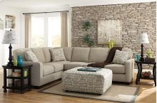 Alenya 3-Piece LAF Sofa Sectional w/ RAF Loveseat (Quartz)