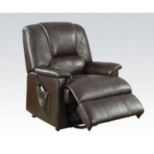 Kit-brown Pu Recliner W/functs