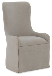 Dining Room Miramar Aventura Gustave Upholstered Host Chair