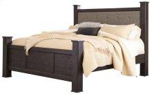 Reylow - Dark Brown 4 Piece Bed Set (King)