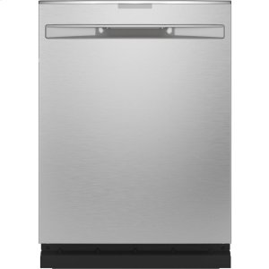 GE ProfileTop Control with Stainless Steel Interior Dishwasher with Sanitize Cycle & Dry Boost with Fan Assist