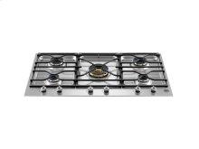 36 Segmented cooktop 5-burner Stainless