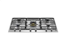 36 Segmented cooktop 5-burner Stainless