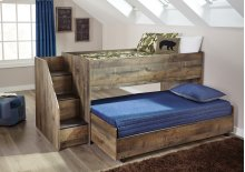 Twin Loft Caster Bed