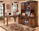 Hamlyn - Medium Brown 4 Piece Home Office Set Product Image
