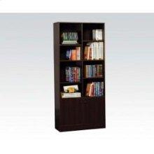Espresso Bookcase
