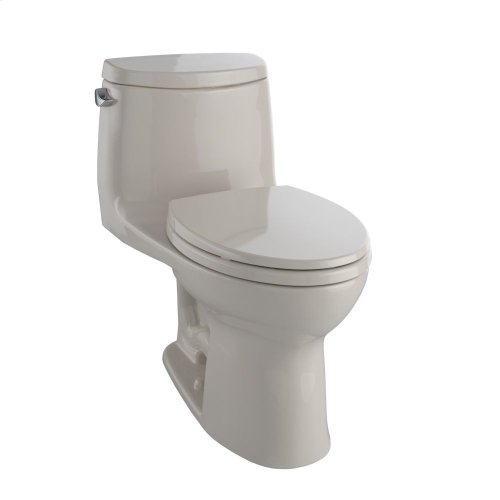 UltraMax® II One-Piece Toilet, Elongated Bowl - 1.28 GPF - Bone