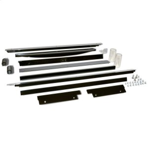 "Whirlpool18"" 50# Ice Maker Trim Kit - Black"