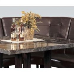 Dining Corner Chair Walnut Leg