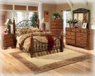 Dresser,Mirror,Chest,Headboard,Footboard, and Rails Product Image