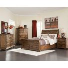 Elk Grove Rustic Rich Bourbon Queen Five-piece Set Product Image