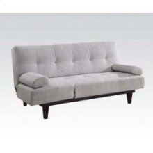 Silver Adjustable Sofa