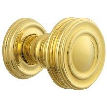 Lifetime Polished Brass 5066 Estate Knob