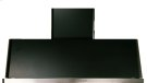 """Matte Graphite with Stainless Steel Trim 48"""" Range Hood with Warming Lights Product Image"""