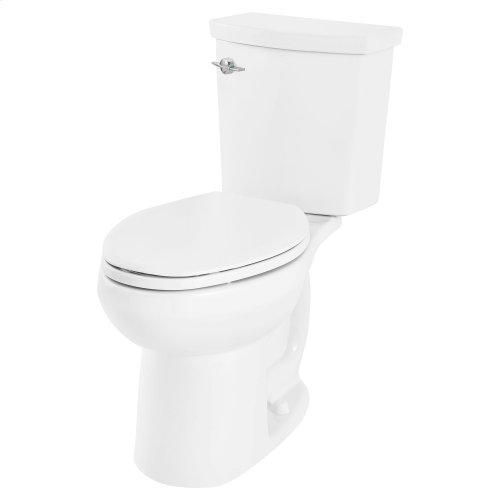 H2Option ADA Dual Flush Elongated Toilet  Left Hand Trip Lever  American Standard - White