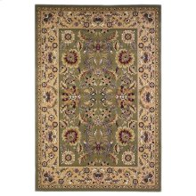 "Cambridge 7304 Green/taupe Kashan 5'3"" X 7'7"""