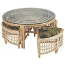CB-2 Natural Wicker/Rattan