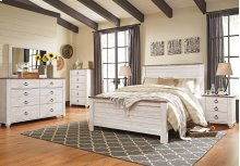 Willowton - Whitewash Bedroom Set