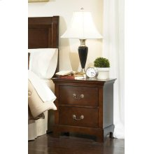 Tatiana Transitional Two-drawer Nightstand