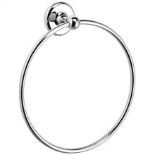 Chrome Plate Towel ring, 8""