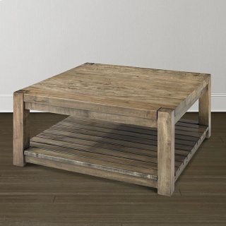 Bench*Made Maple Hampton Square Cocktail Table