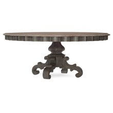 Dining Room Arabella 72in Round Pedestal Dining Table